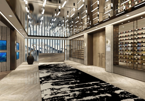 The fit-out project of the Luxury Restaurant Club in Macau with a total area of 25,000 square feet, contract awarded by Lai Si Construction.